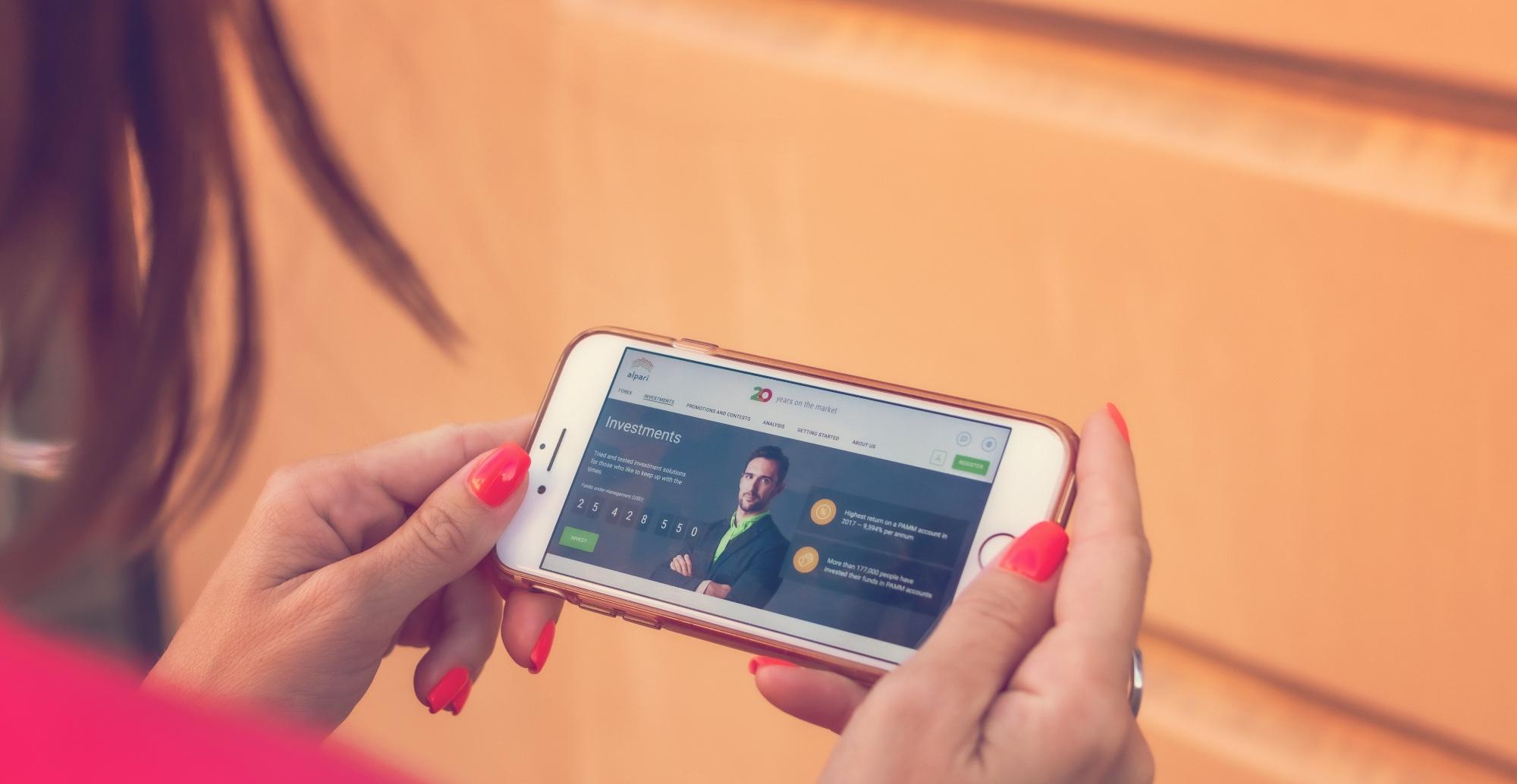 Open banking e smartphones
